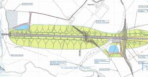 Proposed Leam valley earthworks - south (Source: HS2 Ltd)