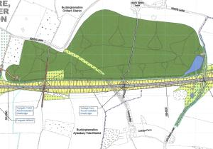 Leather Lane sustainable placement area (Source: HS2 Ltd)